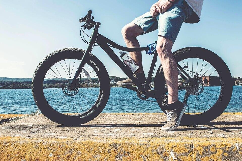 biciklizes melegben
