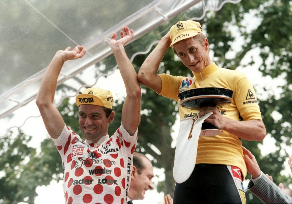 Hinault and LeMond