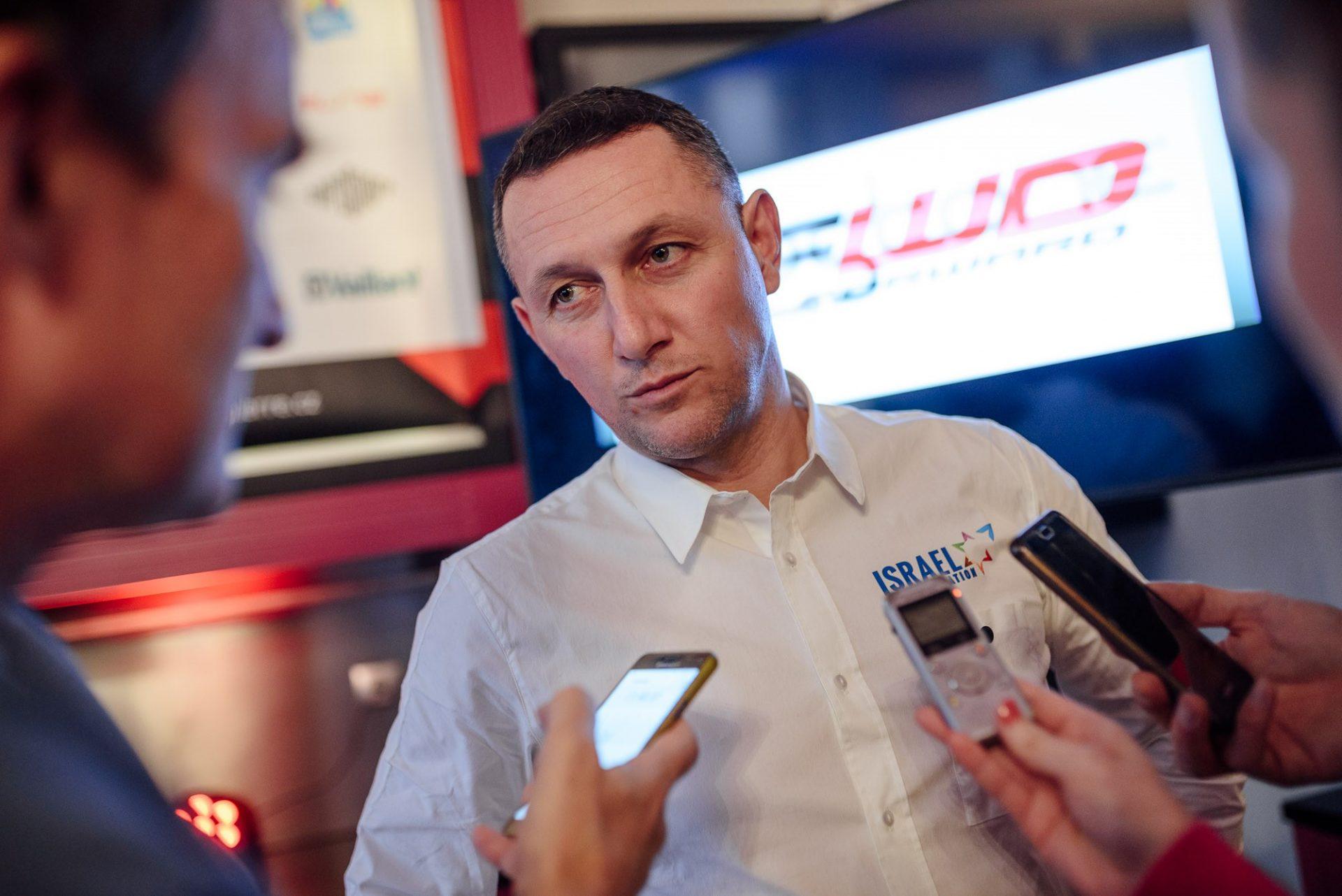 René Andrle, jeden ze sportovních ředitelů formace Israel Start-Up Nations.