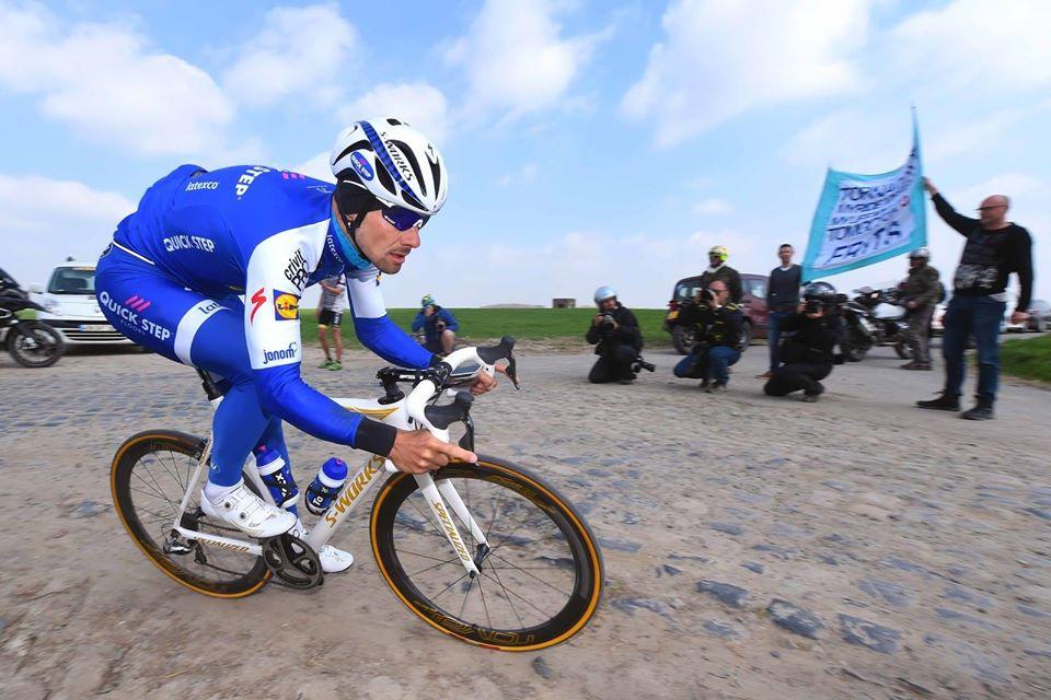 Tom Boonen Paříž-Roubaix