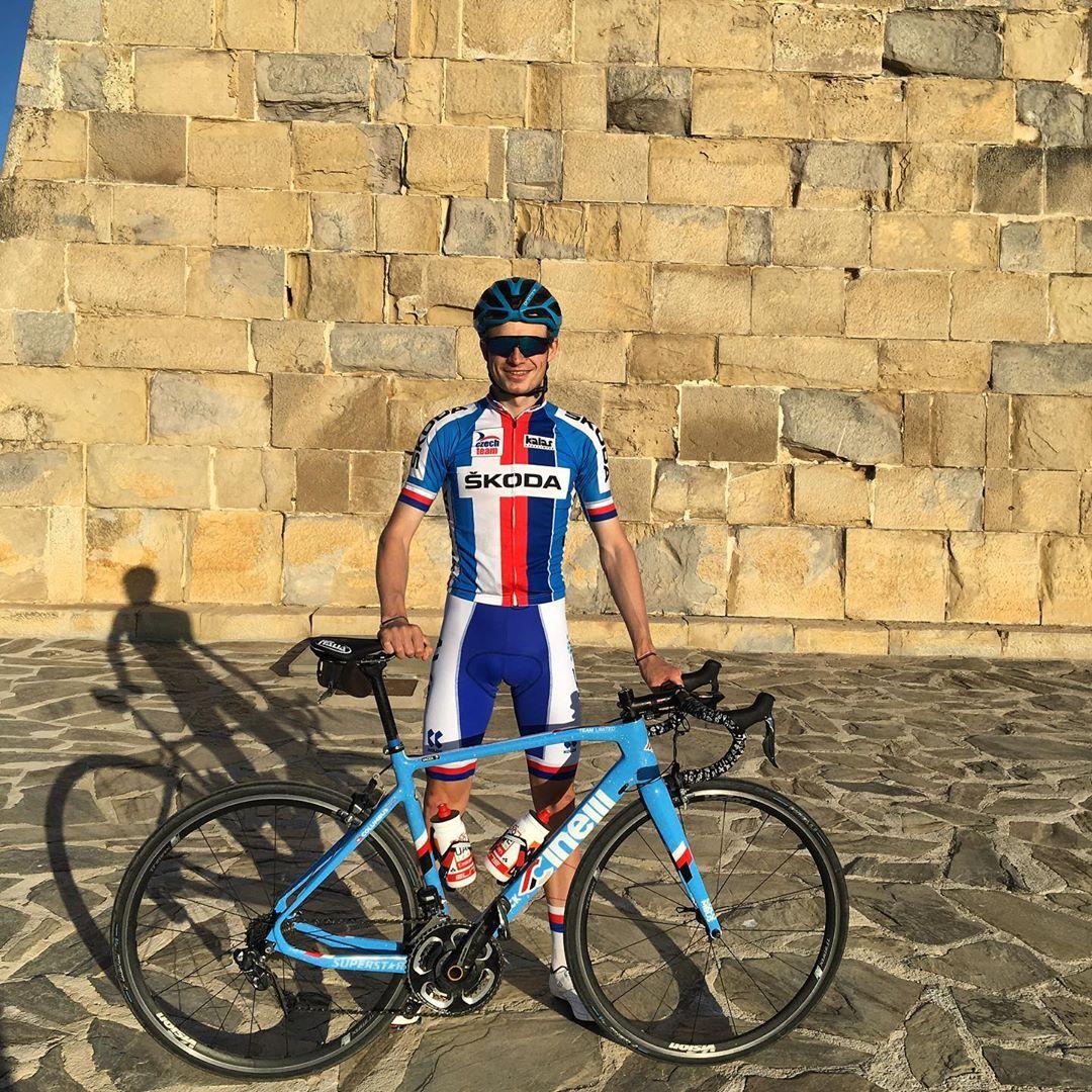 Karel Vacek patří mezi nejtalentovanější české cyklisty. Foto: archiv Karla Vacka