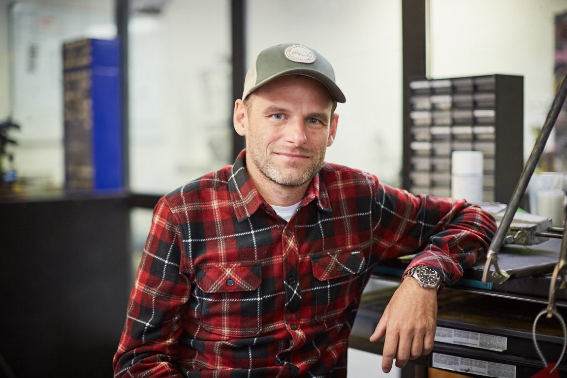 Michael Moureček, spolumajitel a zakladatel společnosti Festka zabývající se výrobou kol na zakázku.