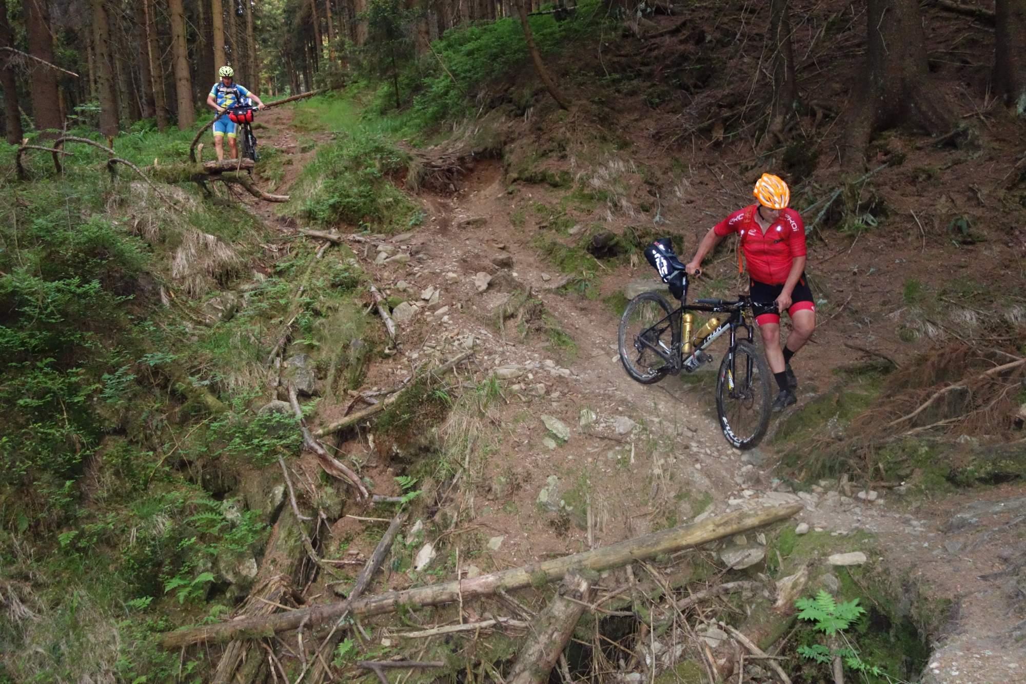 Toulání Šumavou je jeden z řady bikepackingových závodů v Česku, který skutečně otestuje síly cyklistů. Foto: toulanisumavou.cz