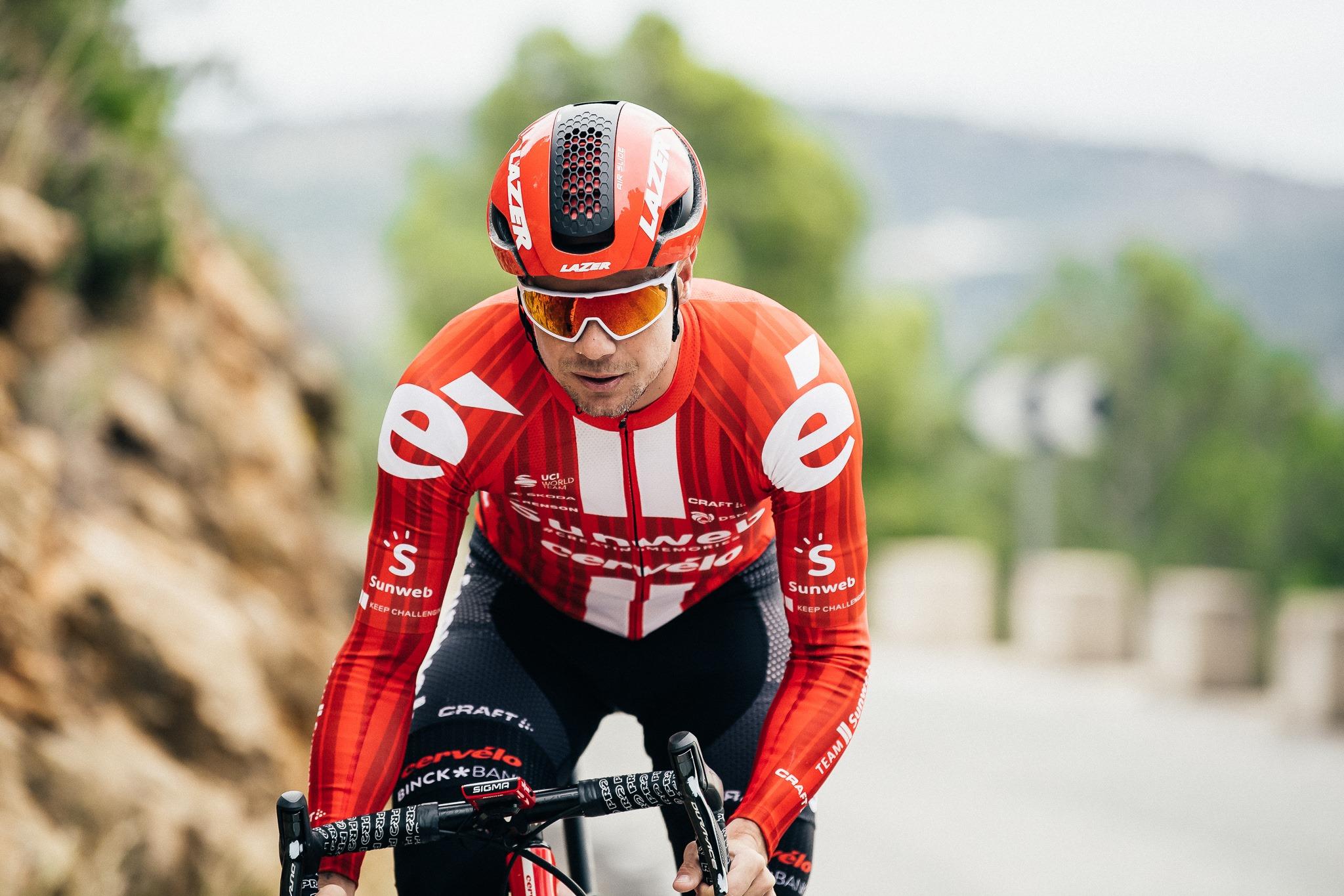 Nicholas Roche, v pětatřiceti letech jeden z nejzkušenějších závodníků týmu Sunweb. Foto: facebook Sunweb