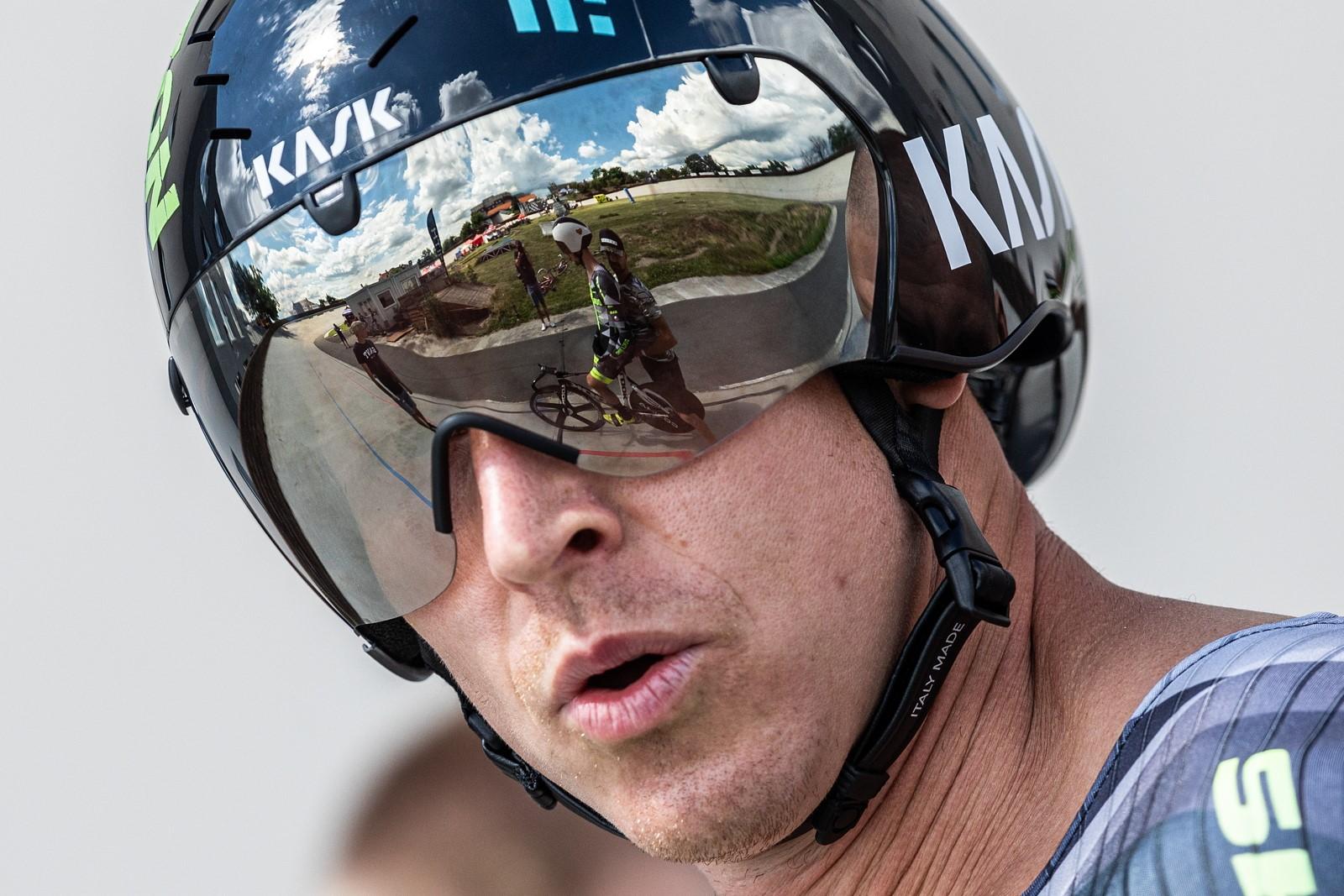Tomáš Bábek, dráhový cyklista, který by mohl ukončit čekání české dráhové cyklistiky na olympijskou medaili. Foto: Michal Červený