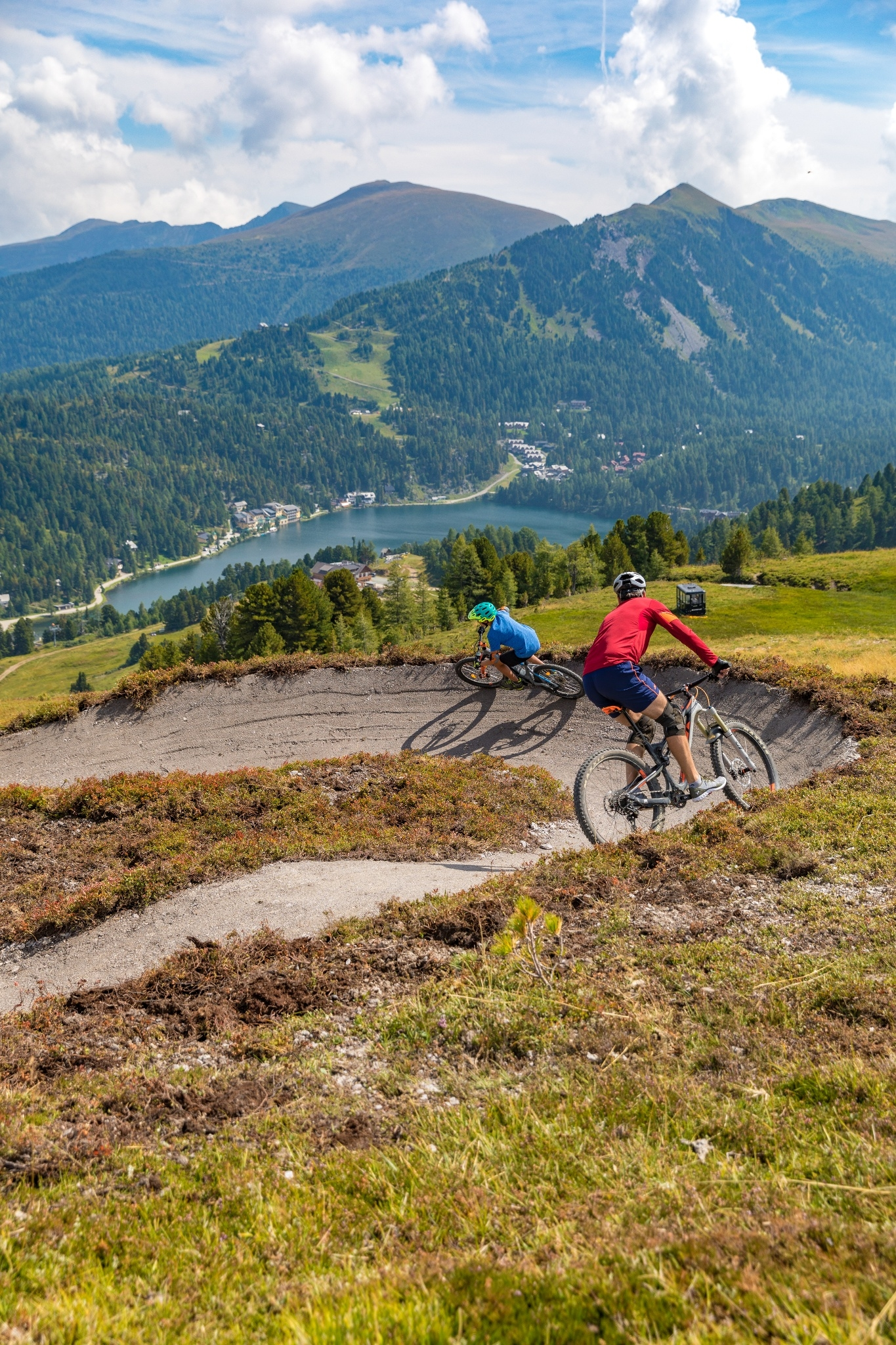 Kornock Flow trail potěší každého milovníka cyklistiky.