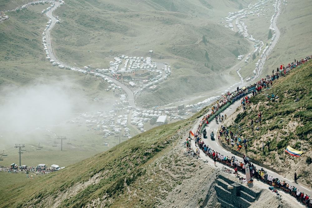 Tourmalet! Ikonická hora patřící k historii Tour de France. Foto: A.S.O. Thomas Maheux