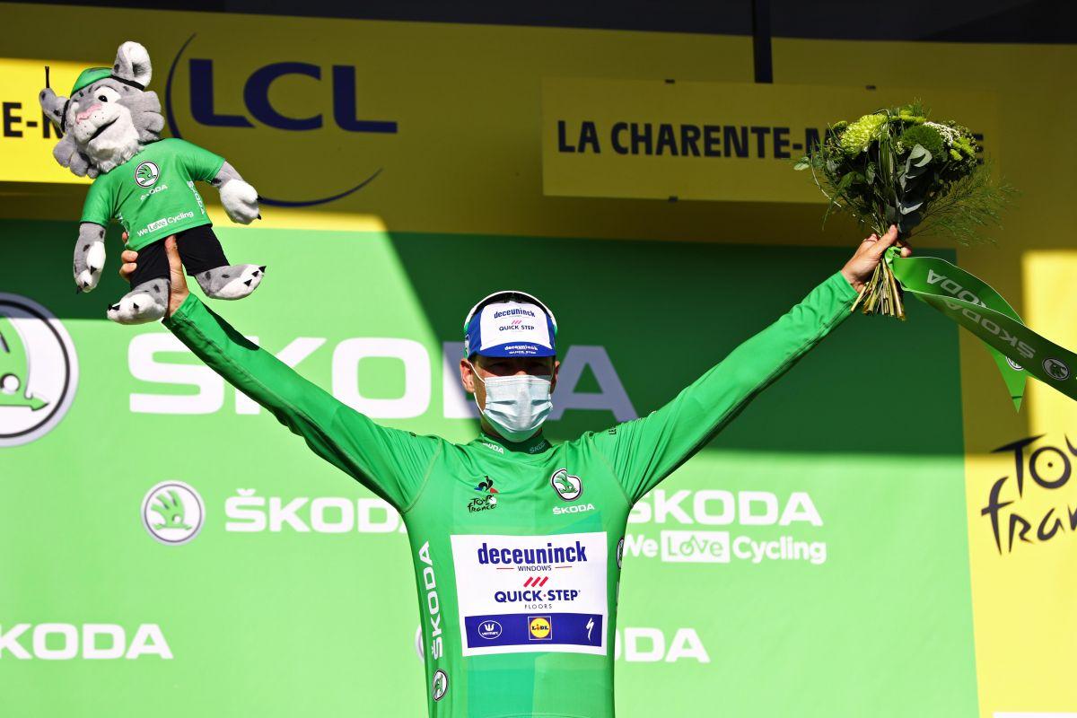 Sam Bennett se stal králem bodovací soutěže Tour de France 2020. Foto: Tim De Waele/Getty-Images/Deceuninck Quick Step