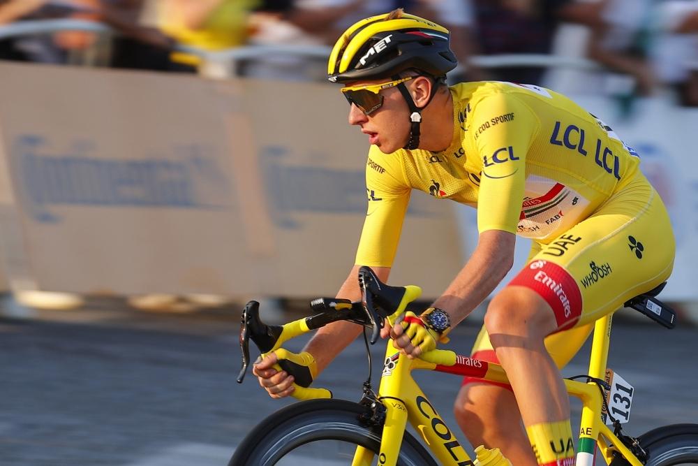 Tadej Pogačar v závěrečné etapě Tour de France 2020. Foto: bettiniphoto/colnago
