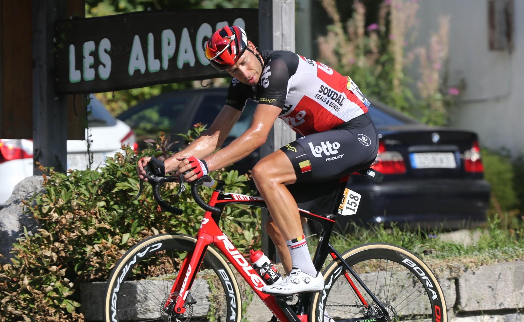 Roger Kluge, německý cyklista v barvách Lotto Soudal, letos dokončil Tour de France na posledním místě jako 146. klasifikovaný cyklista. Foto: profimedia