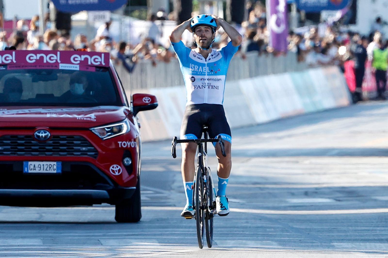 Dowsett vybojoval pro tým Israel Start-Up Nation první vítězství ve World Tour. Foto: Israel Start-Up Nation