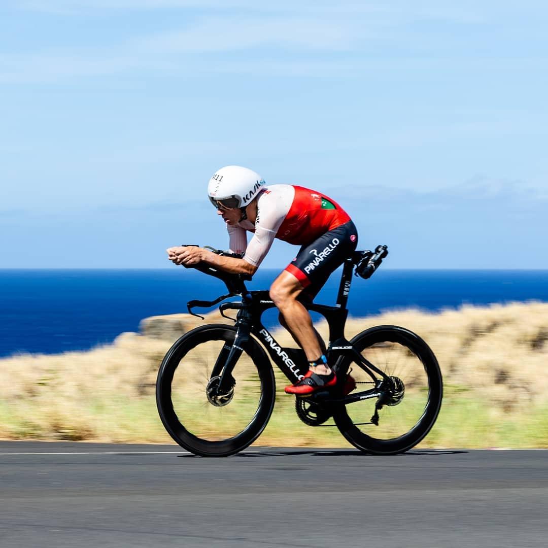 Cameron Wurf ještě v dobách, kdy jeho hlavní náplní byl triatlon. Foto: instagram Camerona Wurfa