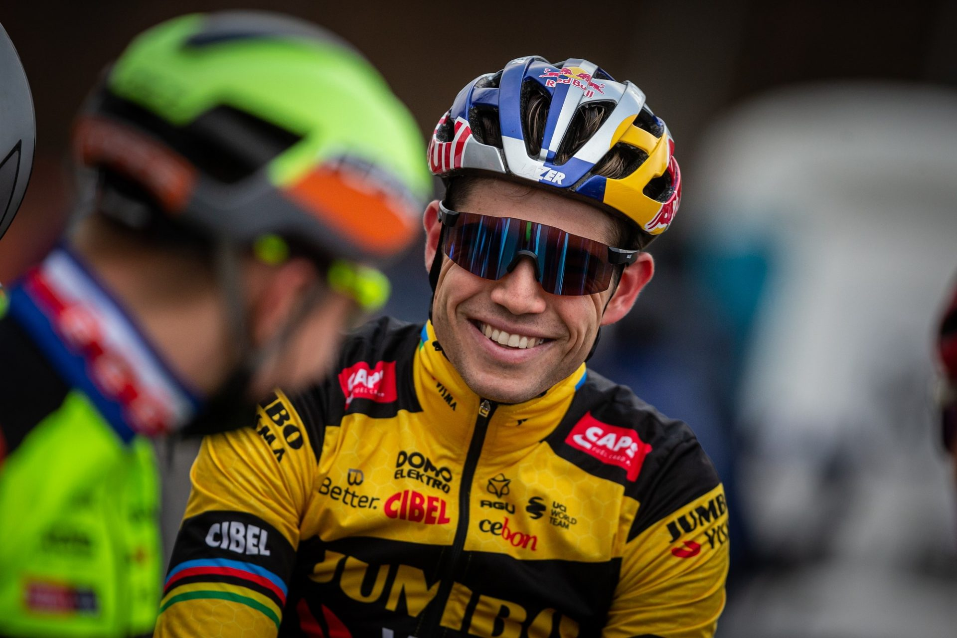 Wout van Aert má důvod k úsměvu. I ve zkrácené sezoně 2020 zářil. Foto: Michal Červený