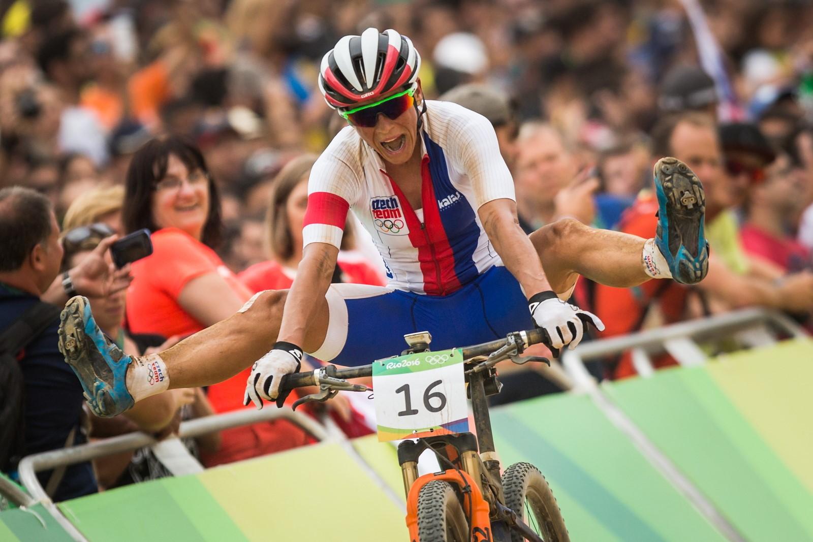 Kateřina Nash vybojovala pátou příčkou v Riu 2016 nejlepší ženský olympijský výsledek historie pro Česko. Foto: Michal Červený