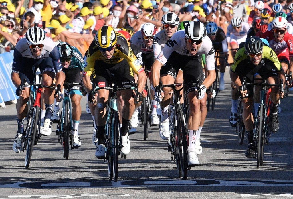 Wout Van Aert at the 5th stage of 2020 Tour de France