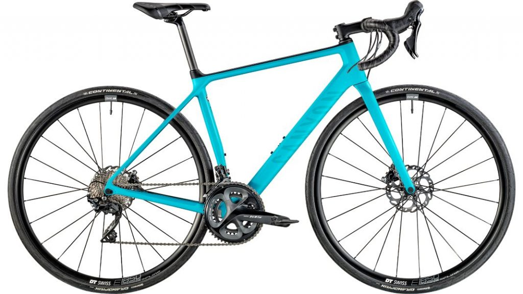 Canyon women's bike