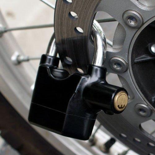 Alarmed padlock, Photo: amazon.co.uk