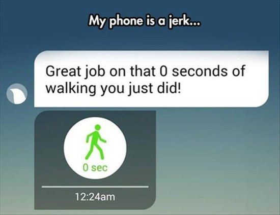 Fitness apps can be really cruel.