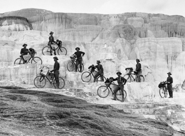 In 1897, they set out on an expedition to test how useful bicycles could be to the military in mountainous areas, traveling across the country all the way from Fort Missoula to St. Louis, Missouri, a trip that covered 3,058 miles and took 34 days.