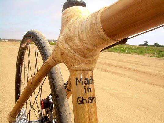 One year later, bamboo bikes were patented in the USA.