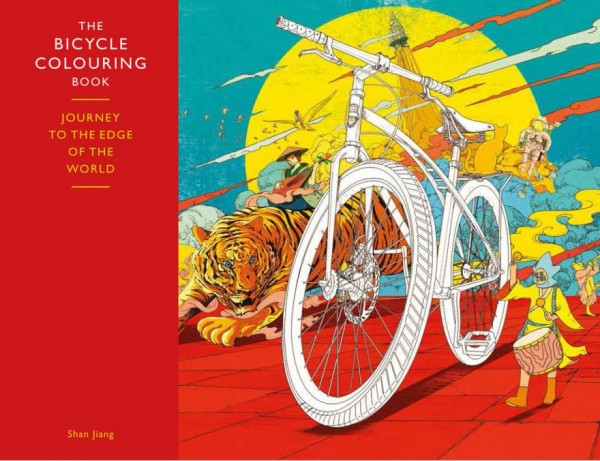Colouring books for adults have been a big hit for the past couple of years. So it was only a matter of time until someone would think of cyclists, and that moment is finally here.