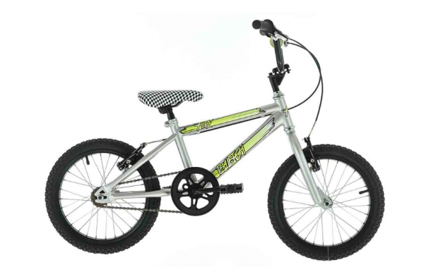 """At £110 the 16"""" Raleigh Fury represents one of the best-value bikes in this category. This BMX-style model is definitely the most stylish and comes with stickers to let its new owner personalise it. It's suitable for five-year-olds and older."""