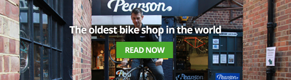 Just like the Pearsons did. Even though times got tough sometimes they pulled through, and today, they are the proud owners of the oldest bike shop in the world. We visited them a while back, so you can read all about their fascinating work in our article.