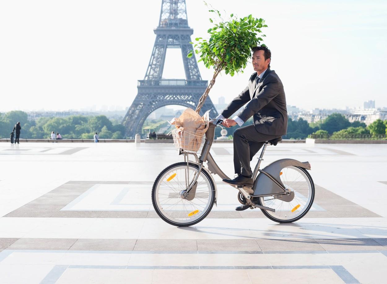 Paris is a truly bike-friendly city.