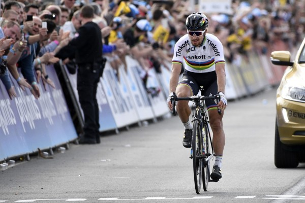 World champion Peter Sagan won the 2016 Ghent-Wevelgem and finally got the long-awaited first place, wearing the rainbow jersey. The 26-year-old wasn't worried because of his many second places, though.