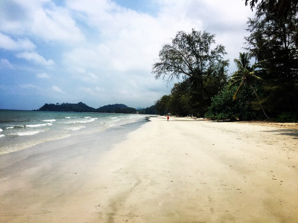 After leaving Siem Reap I headed to Battambang, then onto the Thai border, down through the foothill to the beautiful island of Ko Chang where I stayed for a week until continuing to Bangkok.