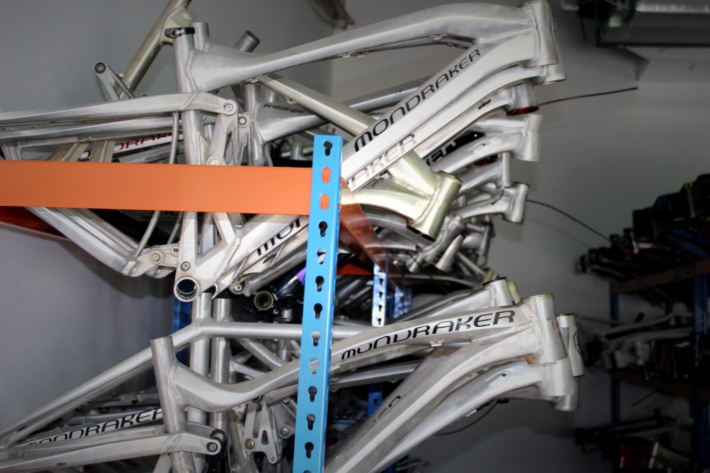 In Asia we just manufacture the frames, mainly with two different frame suppliers, with the highest technology processes. We are lucky to work with possibly the best frame manufacturers in Asia. Everything preceding the manufacturing and building process is done in Spain at Mondraker HQ in Alicante, which is also where we assemble the complete bikes.