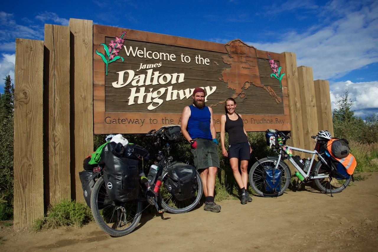 Start of the Dalton highway