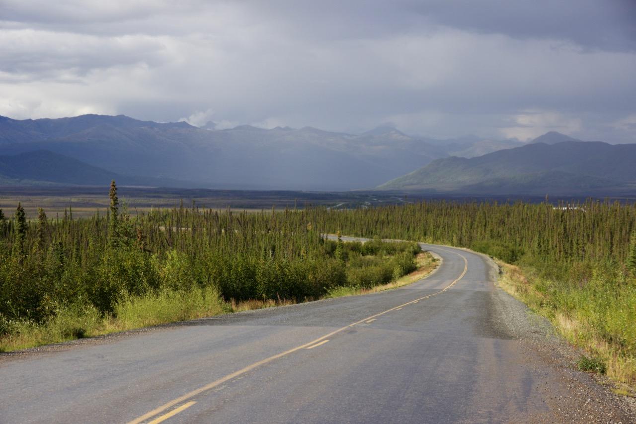 Seemingly endless roads