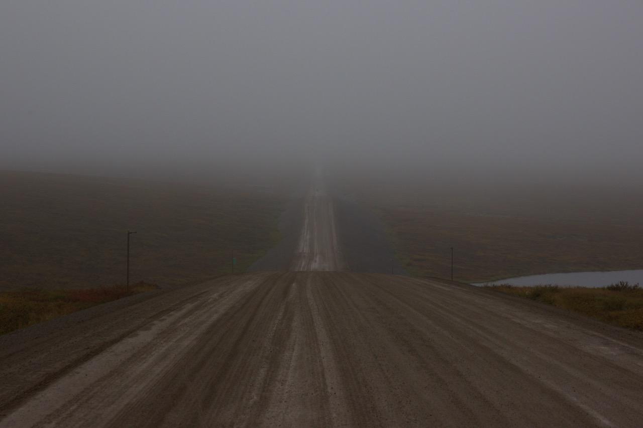 The nasty sticky mud road *