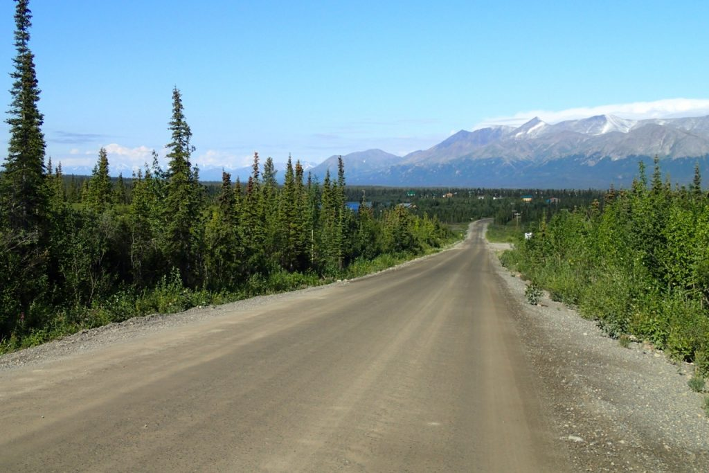 Reaching the end of the Denali highway
