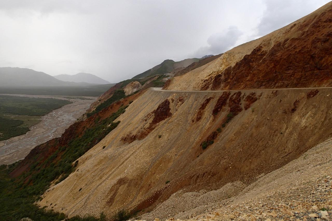 'Pretty rocks' in Denali NP