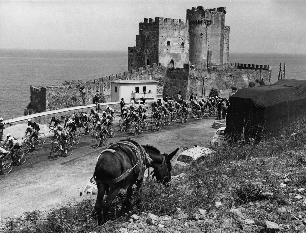 Capo Rizzuto on the Ionian coast in Calabria 1961.