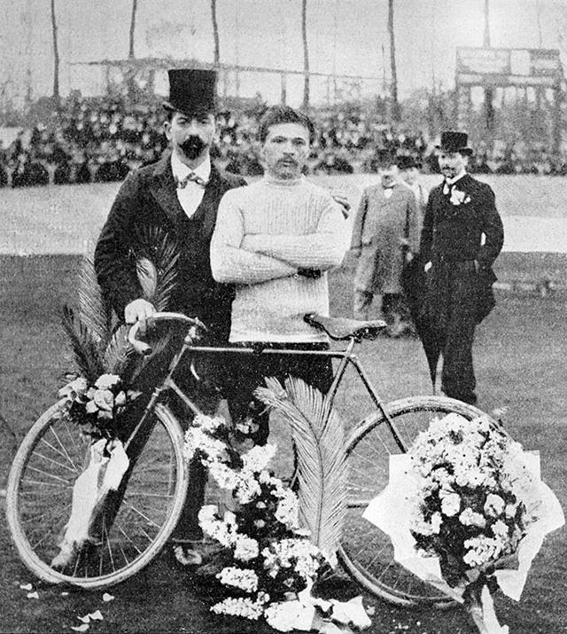 1903:Tour de France winner Maurice Garin