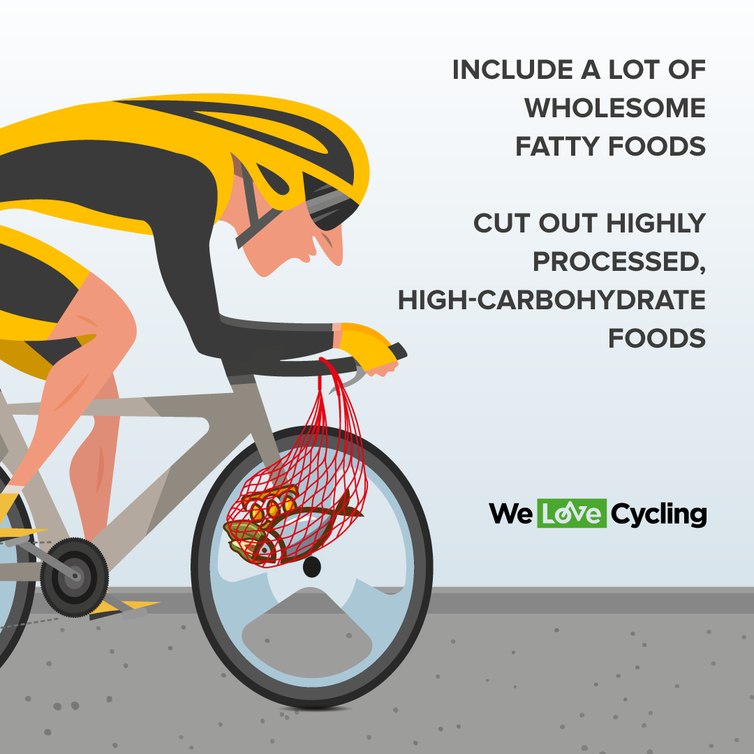 the use of high fat diets for cyclist.