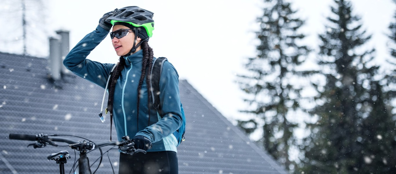 Female MTB Cyclist