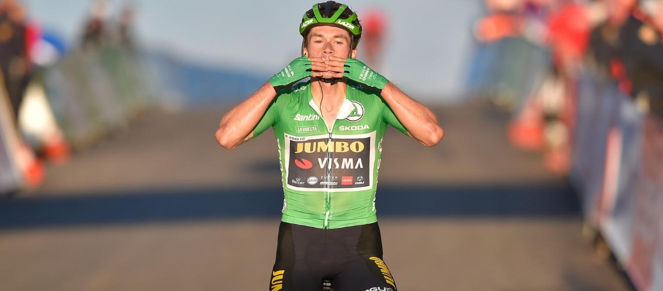 Primož Roglič Still Leads the Battle for the ŠKODA Green Jersey - We Love  Cycling magazine