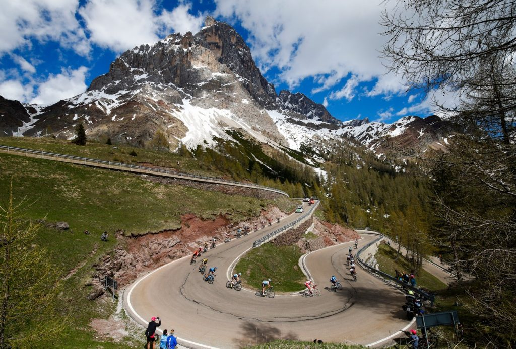 Mountain stage at Giro