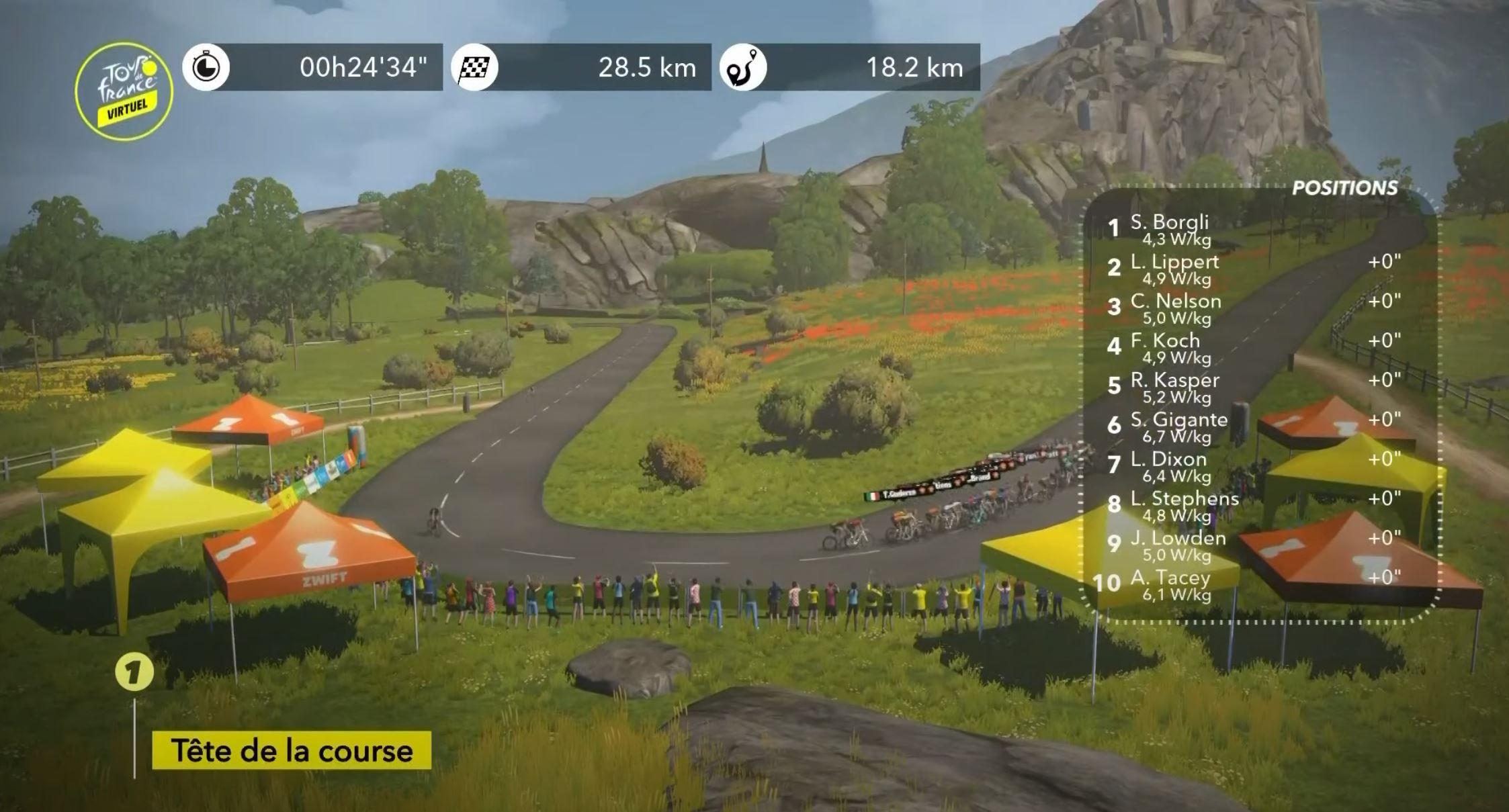 Virtual Tour de France