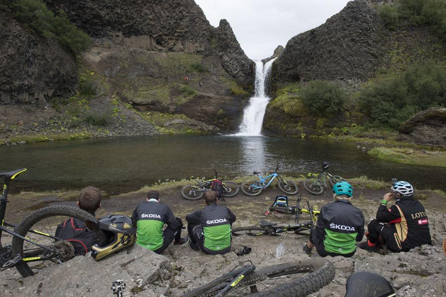 Qualcuno ha bisogno di un po' di riposo nella valle Gjáin, Þjórsárdalur