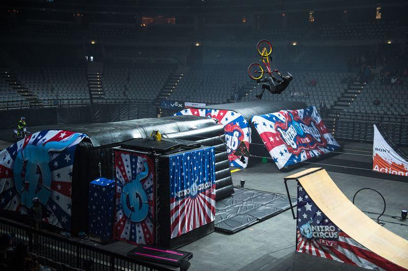 Sarebbe fantastico rivedere il Nitro Circus a Praga e partecipare di nuovo allo spettacolo. Non lo dimenticherò mai!