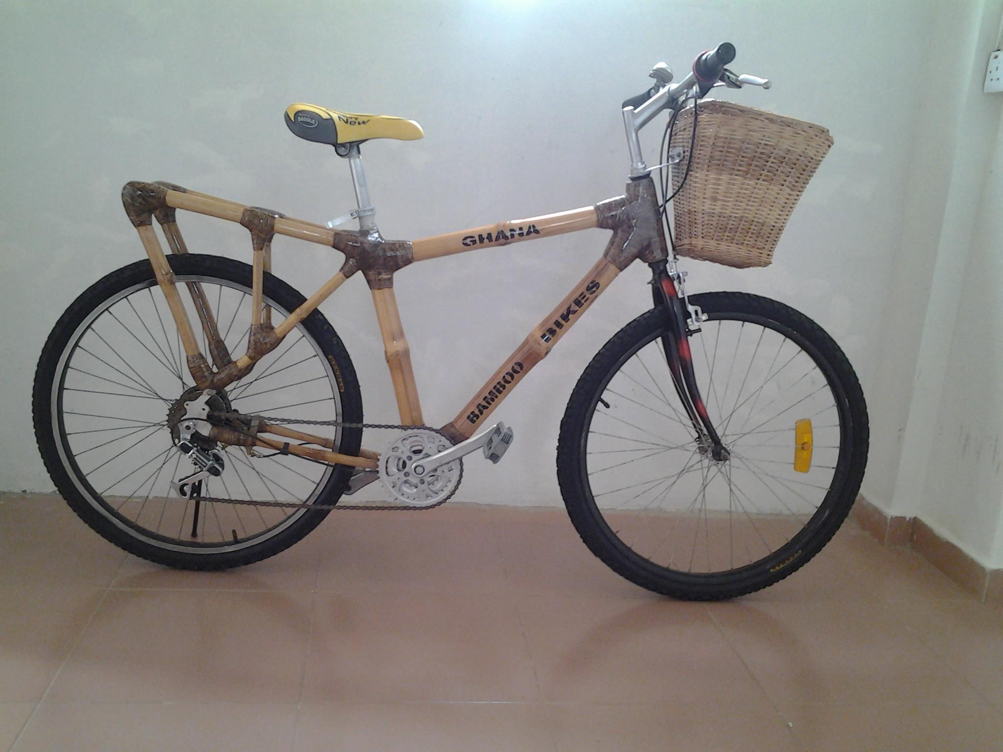 Nel 1894, meno di un decennio dopo l'invenzione della bicicletta di sicurezza, l'inglese Bamboo Bicycle Company Ltd. presentò al pubblico i primi telai in bambù.