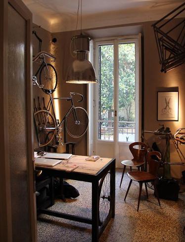 Questa è forse la stanza delle bici?