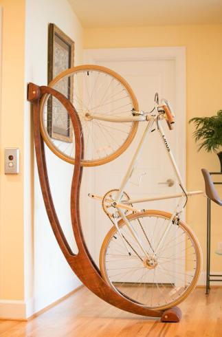Ci vuole una sedia a dondolo per le nostre bici…