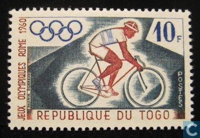 Rome Summer Olympics (Togo 1960)